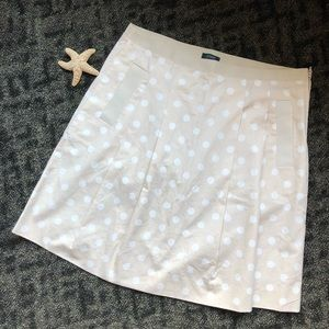J. Crew Pleated Polkadot Pleated Skirt sold out
